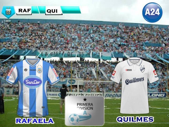 Atlético Rafaela lo tenía controlado pero Quilmes le empató en el final