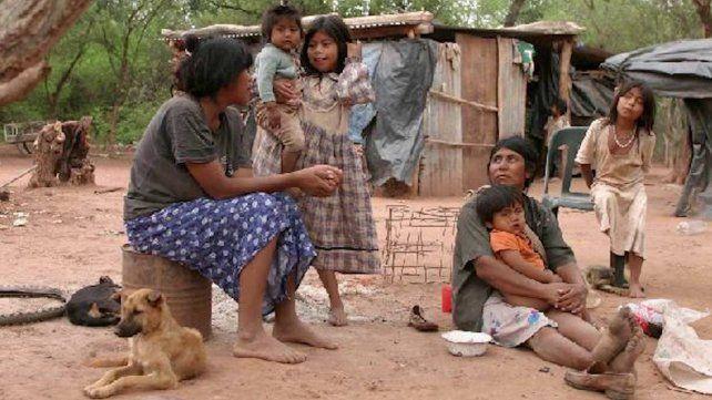 Son 32 los niños wichí internados por desnutrición en Salta