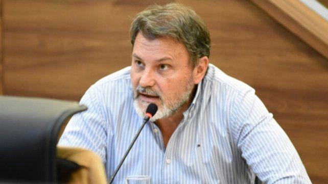 El concejal Agapito Blanco