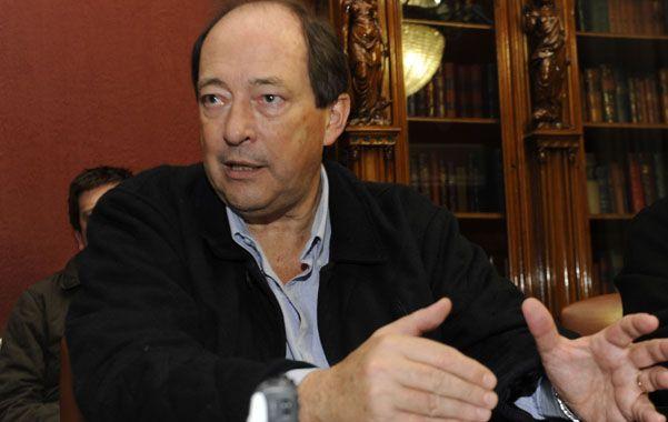 El senador mendocino Ernesto Sanz dice que en octubre la sociedad le va a poner un límite al oficialismo. (foto: Sergio Toriggino)