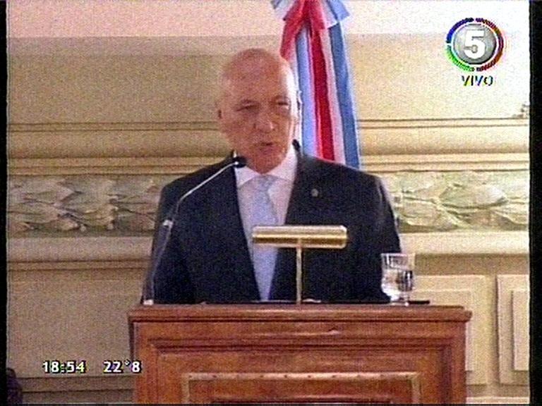 El discurso completo del gobernador Antonio Bonfatti (video)