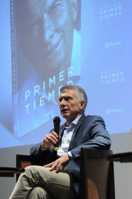 Mauricio Macri presentó su libro junto a la Fundación Libertad