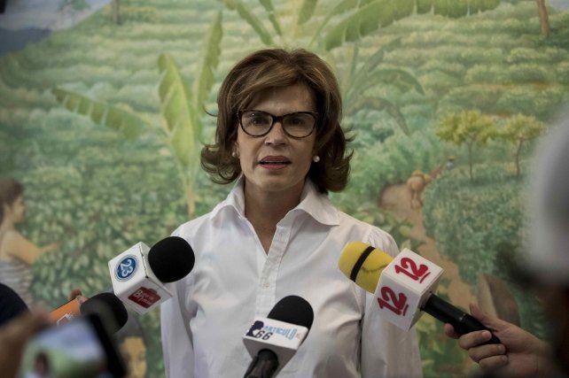 Cristina Chamorro, candidata presidencial detenida por orden de Daniel Ortega. Otros cinco candidatos también fueron a la cárcel. Ortega se despeja el camino para una cuarto mandato.