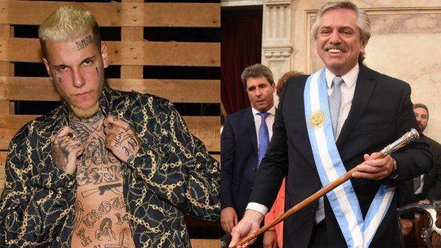 Alexander Caniggia le pidió la renuncia al presidente Alberto Fernández