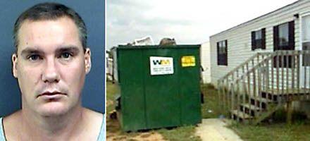Un americano encerró a su esposa e hijos tres años en una casa rodante