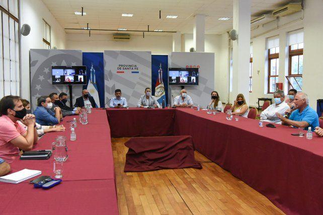 Provincia y Nación comenzaron a coordinar el operativo Cosecha Segura 2021 en la zona del Gran Rosario