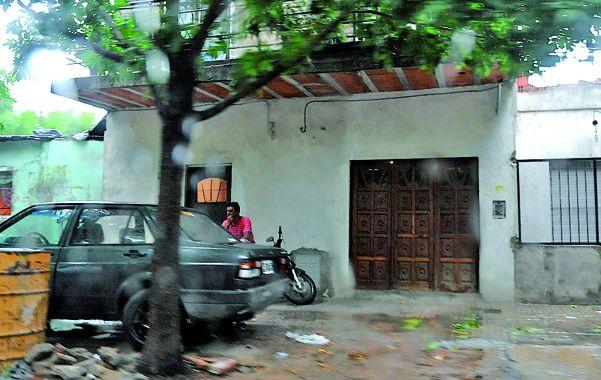 La cuadra de Rueda al 1400 donde ocurrió el homicidio en 2010 y el ataque del último miércoles.