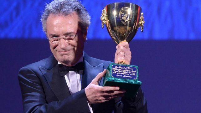 Oscar Martínez ganó la Copa Volpi a mejor actor en el Festival de Venecia de 2016 por El ciudadano ilustre.