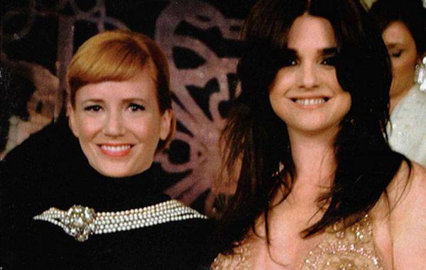 La ex y la actual mujer se Suar se encontraron en la gala de la revista Gente.
