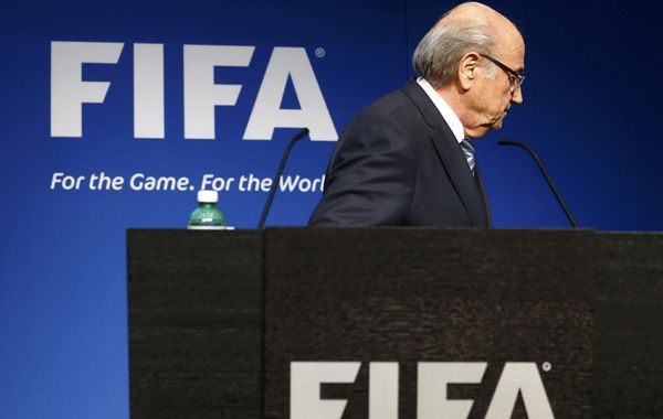 El suizo Joseph Blatter había asumido la presidencia de Fifa en 1998.