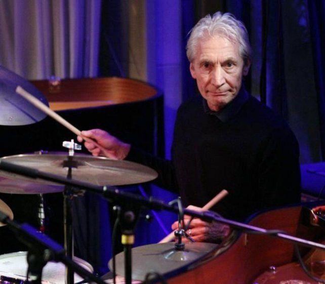 El baterista Charlie Watts es el único miembro original de Los Rolling Stones