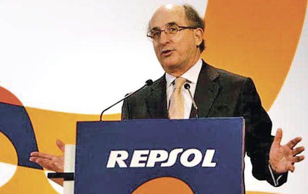 Poco. El titular de Repsol criticó fuertemente la estatización de la petrolera.