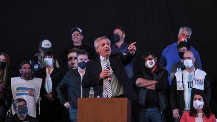 Alberto Fernández llamó a la militancia a hacer la epopeya de lograr el país que merecemos