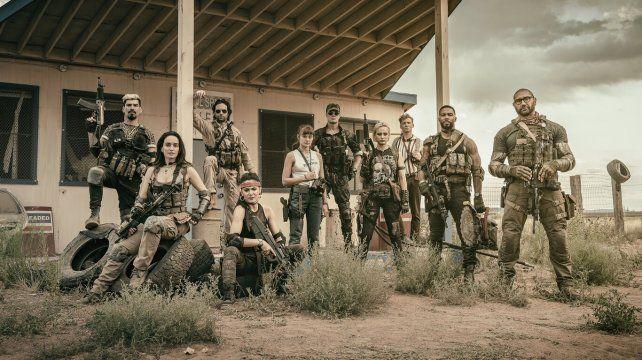 El ejército de los muertos, una de zombies al estilo de Zack Snyder