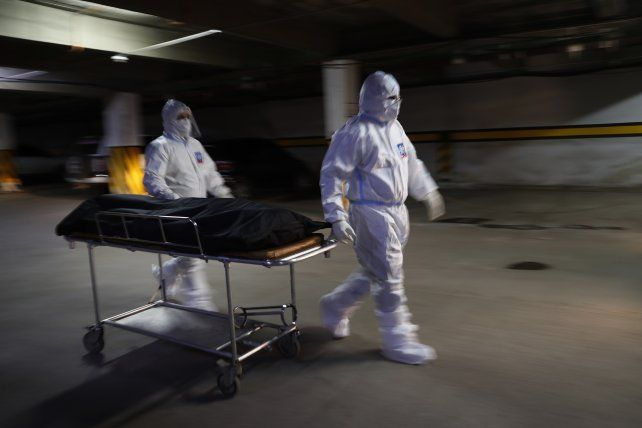 Rosario registró 98 muertes por coronavirus en la última semana