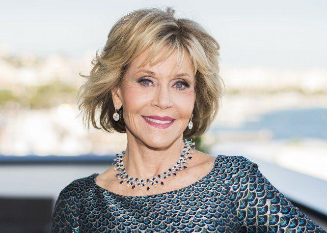 Jane Fonda. La hija feminista, rebelde y aún activa del actor Henry Fonda.
