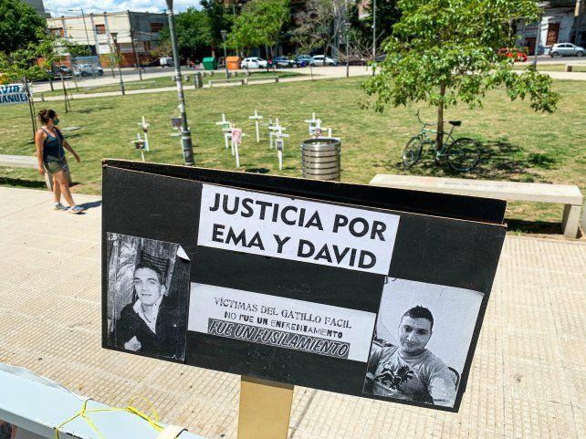 El doble crimen de David y Emanuel motivó muchísimos reclamos de justicia.