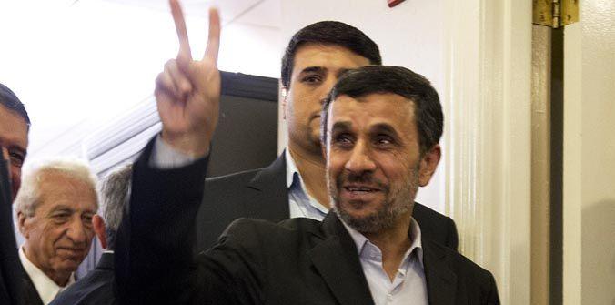 """Mahmud Ahmadinejad aseguró que su país tiene una """"excelente relación"""" con Argentina."""