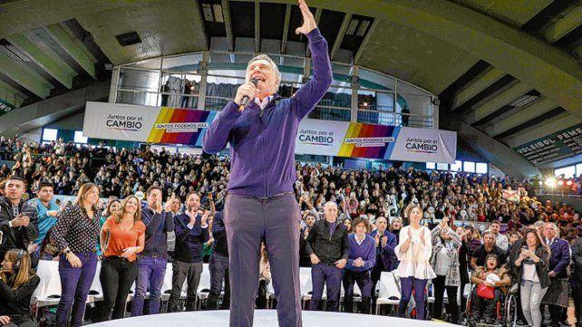 Por la Reelección. Macri dijo que los cambios de raíz llevan tiempo.