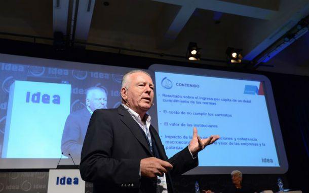 expectativas. El economista Orlando Ferreres habló en Idea sobre las previsiones para el mediano plazo.