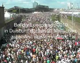 El organizador del Love Parade en Alemania se desliga de la tragedia con un video