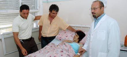 Se halla estable el bebé siamés que sobrevivió a la operación en Baigorria