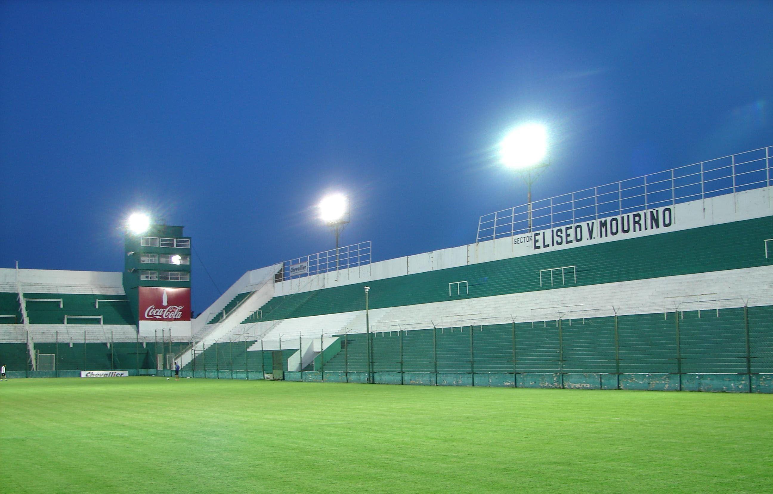 El estadio. Rojinegros y funebreros se medirán el martes 19 en la cancha de Banfield por la Copa Argentina. Falta que la AFA ratifique esta determinación.