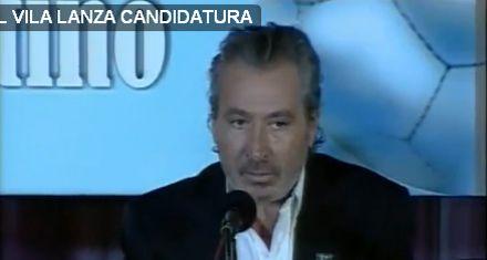 Daniel Vila se postuló a la AFA con la misión de reformar el fútbol argentino