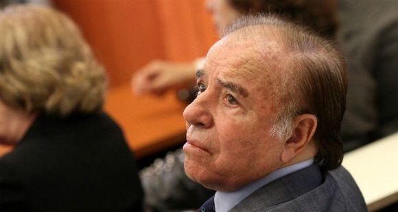 Menem fue absuelto de culpa y cargo por el contrabando de armas a Ecuador y Croacia
