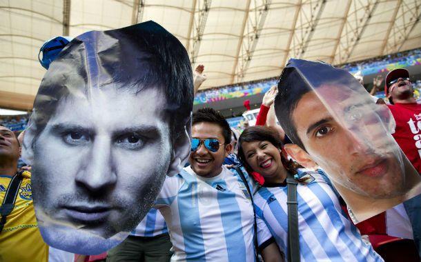 Messi y di maría. Los máximos exponentes de Rosario siguieron despertando pasiones en los últimos días.