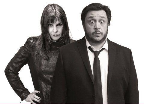 rock y literatura. Fabiana Cantilo y Hernán Casciari eligieron sus trabajos con el sello del humor.