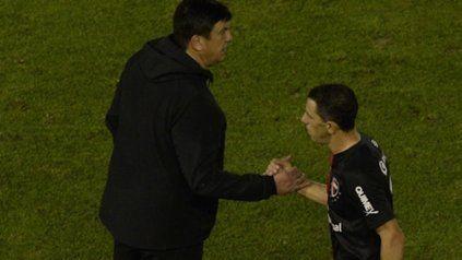 Maxi Rodríguez, el capitán del equipo de Burgos.