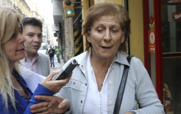En Tribunales. Sara Garfunkel