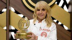 claudia villafane fue la ganadora de masterchef celebrity y le dedico el premio a los que no estan