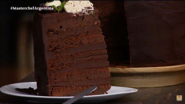 Masterchef Celebrity: hacer una torta de chocolate no es para todo el mundo