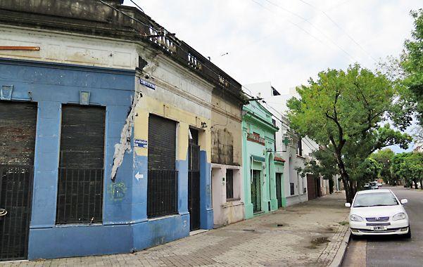 Lucero iba a la terminal de ómnibus y fue asesinado a unos cien metros de su domicilio. (A.Celoria)