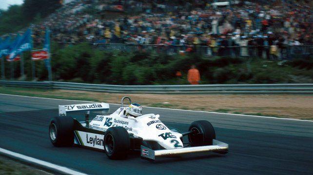 Carlos Alberto Reutemann rumbo a su última victoria