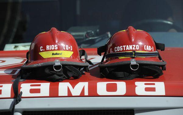 La actuación de los bomberos durante la catástrofe fue la más reconocida por la sociedad.(Foto: S.Toriggino)