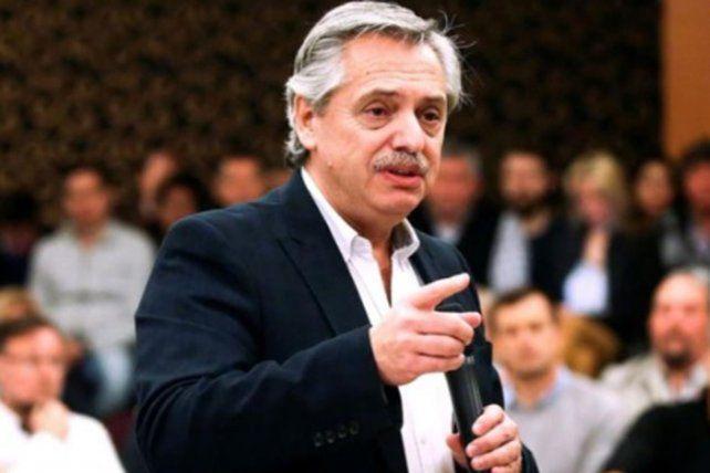 El presidente Alberto Fernández volvió a referirse a la crisis de Vicentin.