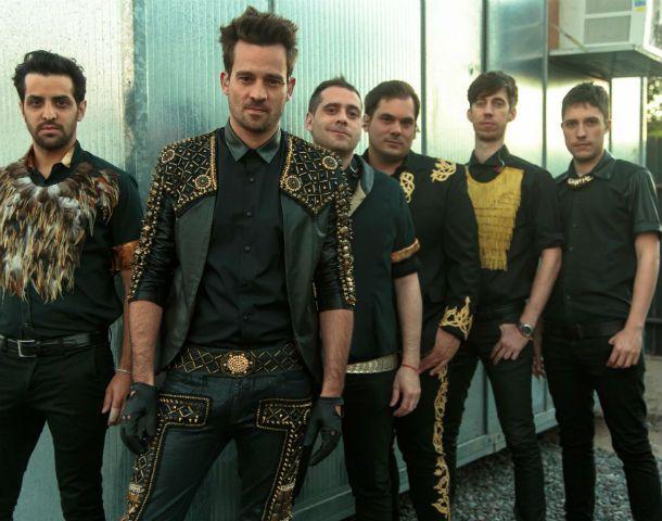 Versátil. Así calificó Moreno Charpentier (centro) el estilo de la banda.