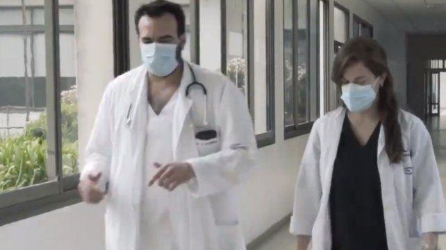 Médicas y médicos fueron reconocidos en su día por la AMR a través de un video.