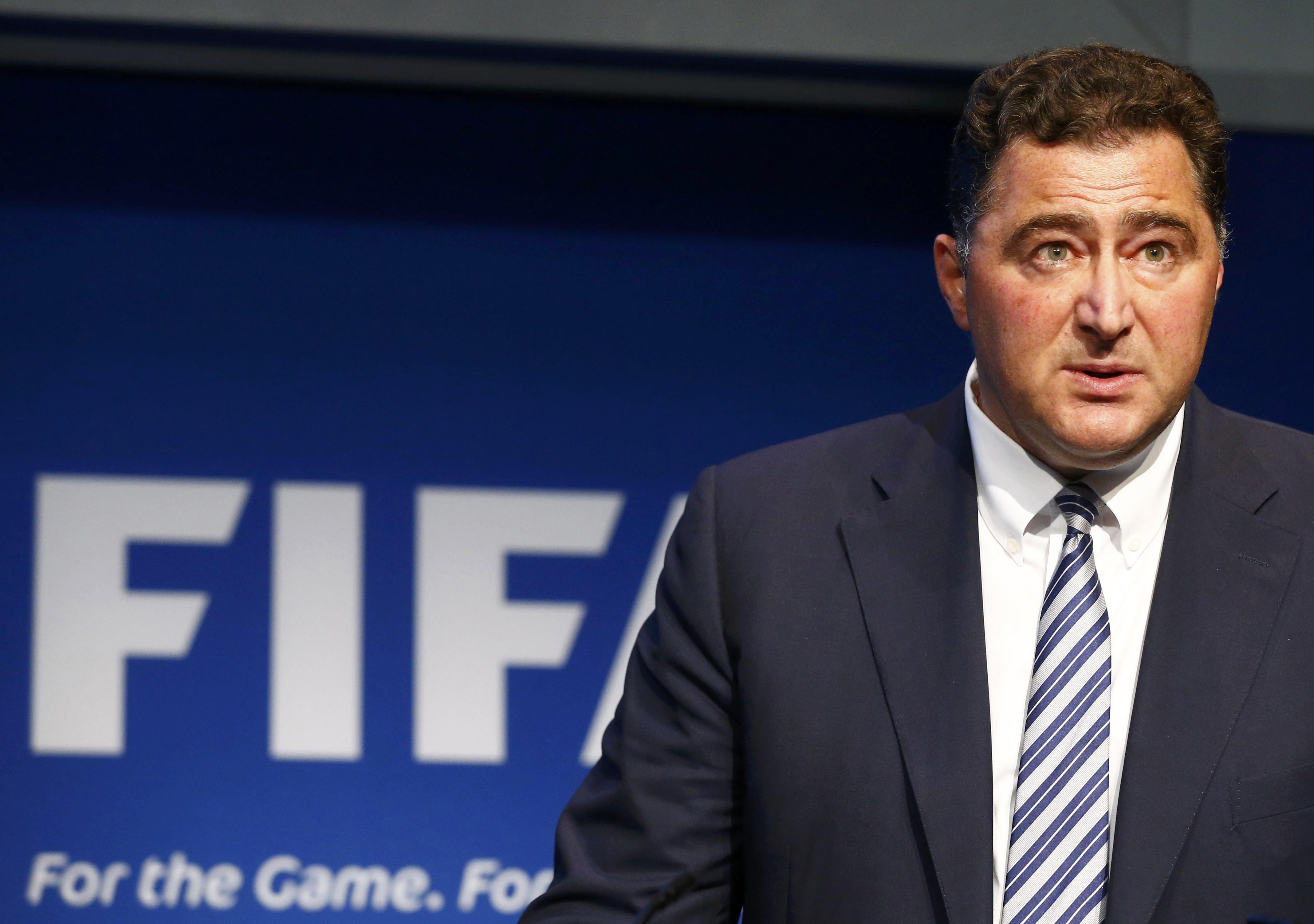 Planteo. El presidente de la comisión de auditoría de la Fifa