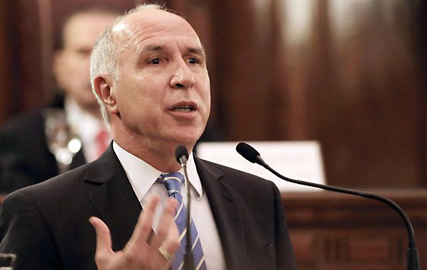 Orador. Lorenzetti inauguró ayer el año judicial con un discurso crítico