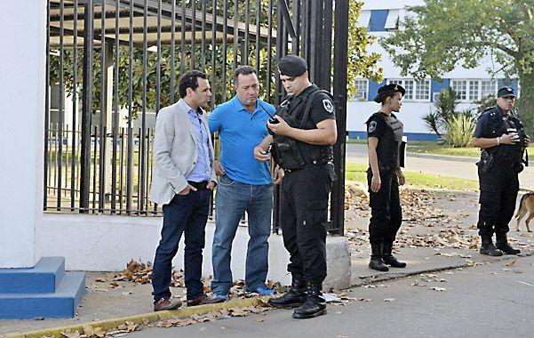 Gestiones. Fausto Yrure y Carlos Varela