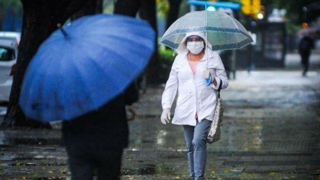 El tiempo en Rosario: un domingo con alerta por tormentas fuertes por la mañana