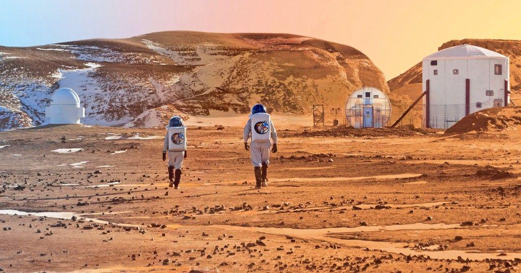 La Nasa planea enviar astronautas a Marte en las próximas décadas.