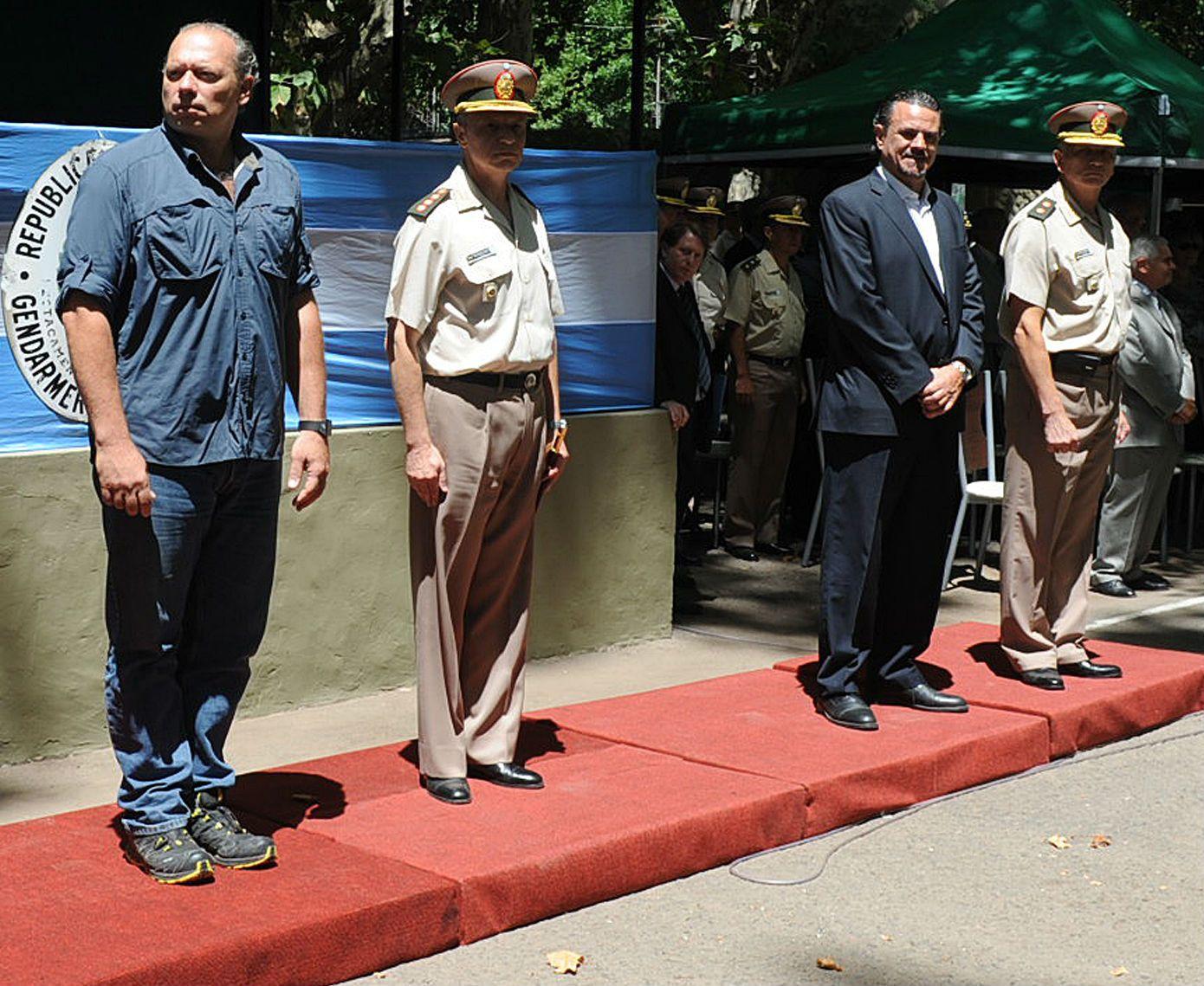 Berni y Galassi compartieron el acto de cierre del Operativo Rosario