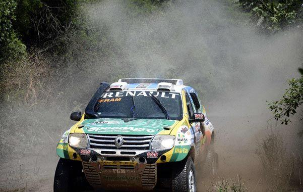Spataro y la Renault Duster