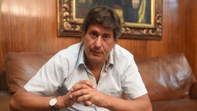 El intendente Santacroce.
