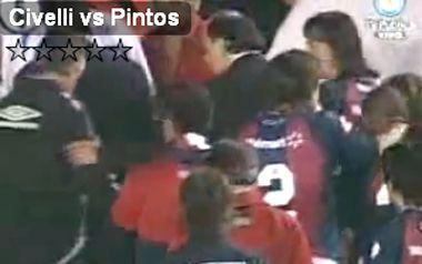 Papelón de jugadores de San Lorenzo, a las trompadas rumbo al vestuario